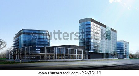 Modern Commercial Building