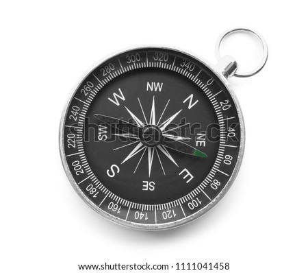Modern compass on white background #1111041458