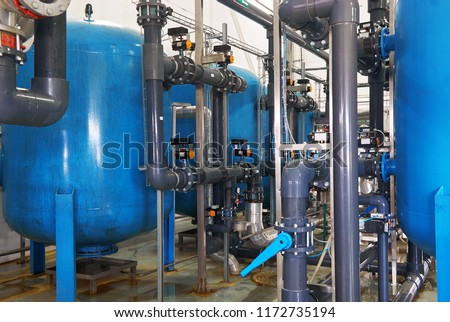 Modern complex of cleaning, disinfecting and preparation of drinking water #1172735194