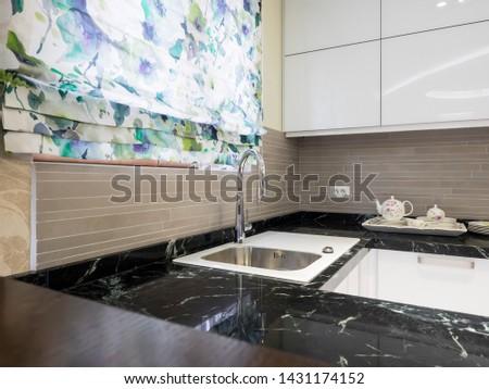 Modern contemporary apartment interior design #1431174152