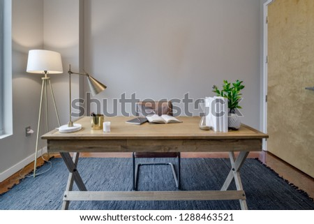 Modern Contemporary Desk #1288463521