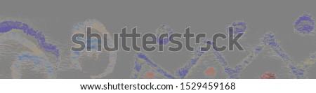 Modern Contemporary Prints Patterns. Gouache Grungy Poster. Modern Contemporary Prints Background. Grey Futuristic Geometric Elegant Artwork. Aquarelle Pattern.