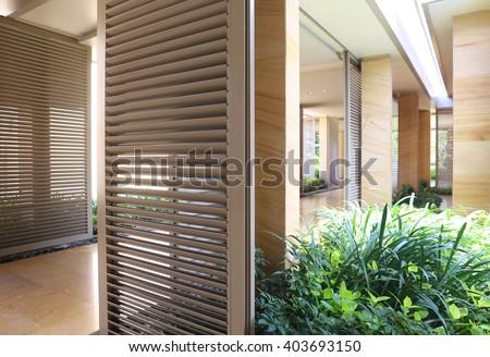 modern corridor interior #403693150