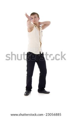 Modern Dancing Man