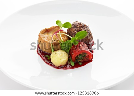 Modern Design Dish Stock Photo 125318906 : Shutterstock