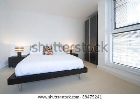 modern designer bedroom