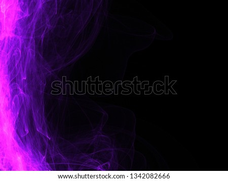 modern digital dark black illustrated beautiful luxury background with smooth soft smooth smoke colorful lines abstract design technology futuristic wallpaper for presentations and brochures