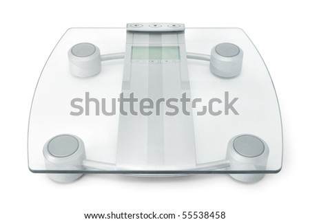 Modern digital glass scales for weight control diet