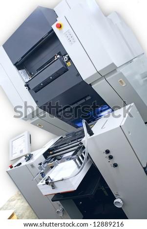 Modern digital offset Printing Machine