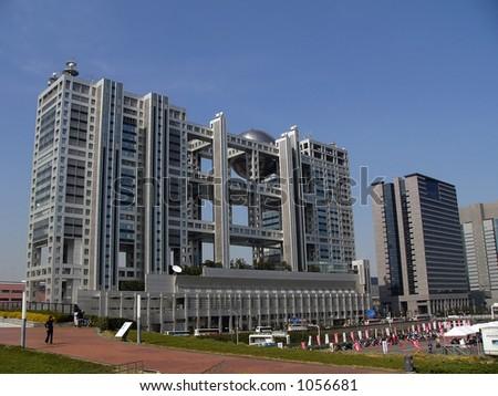 modern district, Odaiba Tokyo Japan