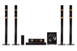 Modern dolby digital sound system for home
