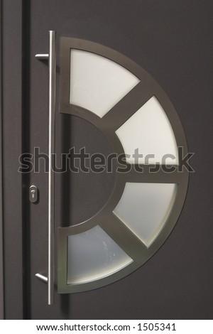 modern doors - stock photo