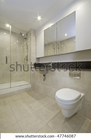 Popular Floor To Ceiling Stone Walls Combined With Recessed Niche For