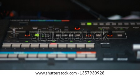 Large sound mixing console Images and Stock Photos - Avopix com