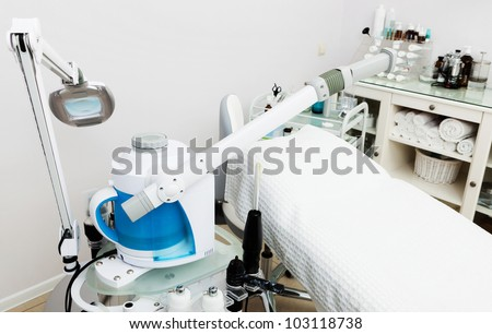 Modern Equipment In The Beauty Salon Stock Photo 103118738 ...