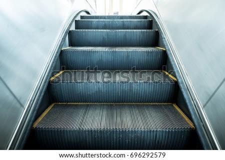 Modern escalator electronic system moving vintage filter