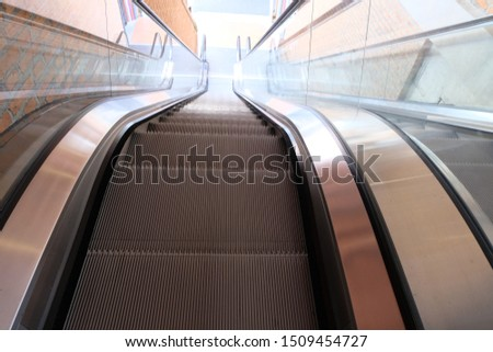 Modern escalators or Modern escalator electronic system