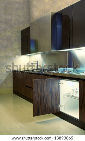 Modern exclusive kitchen
