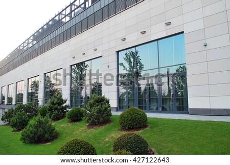 Modern facade #427122643