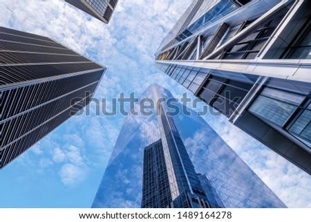 modern facades of new york