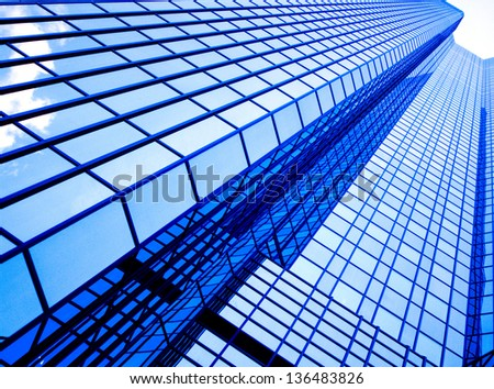 Modern Fronts of Glass and Steel