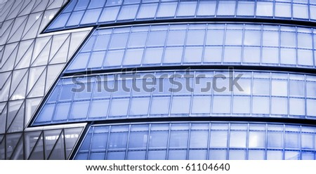 Modern Glass Architecture in City of London, UK. #61104640
