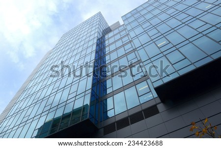 modern glass building #234423688