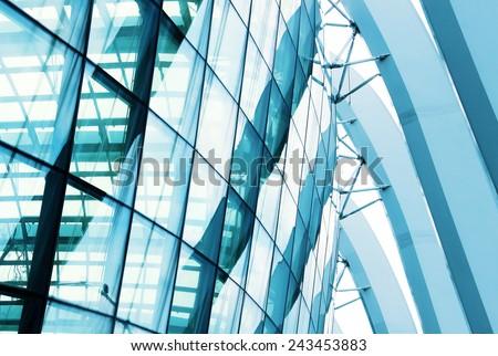 modern glass building #243453883