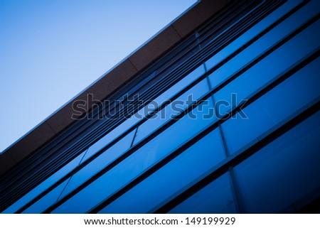 Modern glass building exterior #149199929