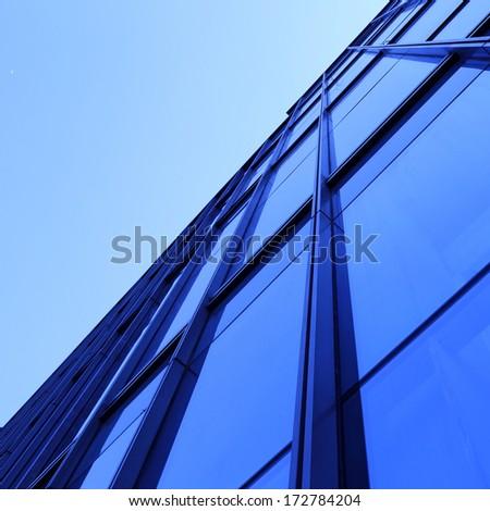 Modern glass building exterior #172784204