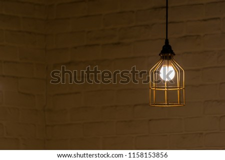 Modern golden wire frame ceiling lamp interior lighting bulbs decoration contemporary #1158153856