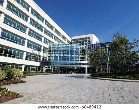 Modern government office building in the eastern united States.