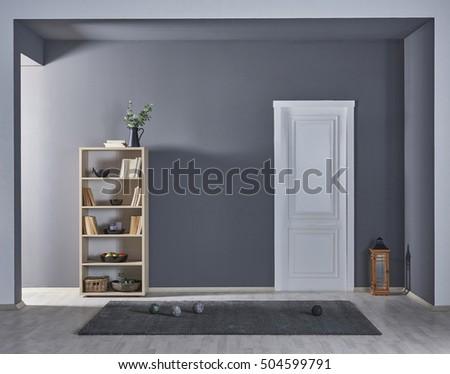 modern gray walls  new...