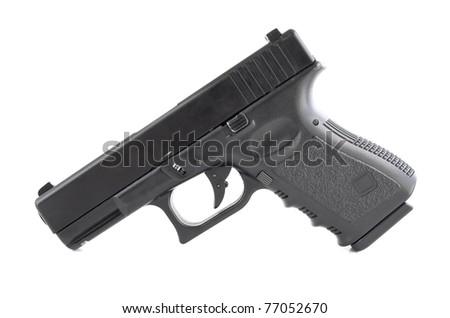 modern handgun, Glock pistol