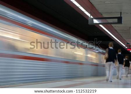 Modern high speed metro
