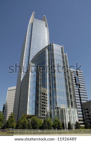 Modern Highrise Office Building in Midtown Atlanta