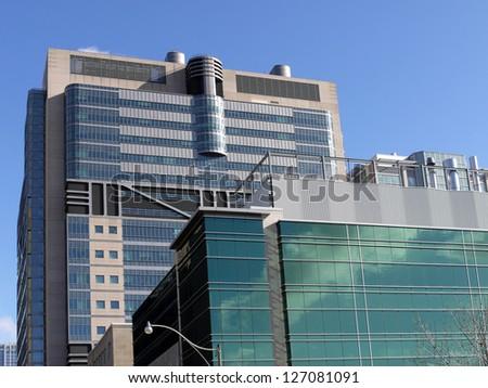 modern hospital buildings