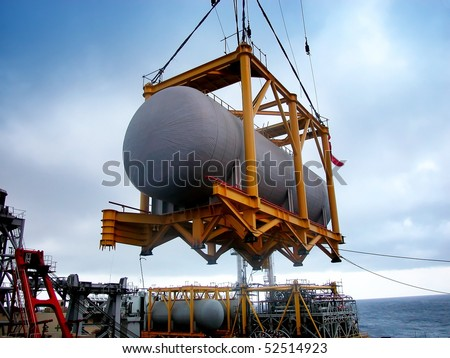 modern industry-oil tank construction