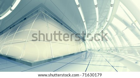 Modern Interior - stock photo