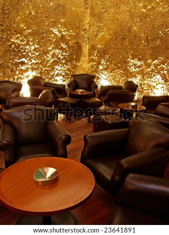 Modern Interior Design on Modern Interior Design Pub Or Nightclub Stock Photo 23641891