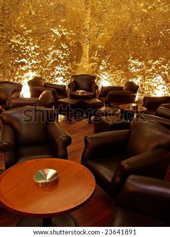 Modern Interior Design on Modern Interior Design Pub Or Nightclub Stock Photo 23641891