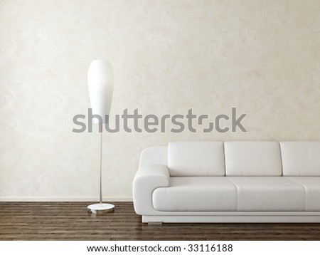 modern interior - more variations of this picture in portfolio
