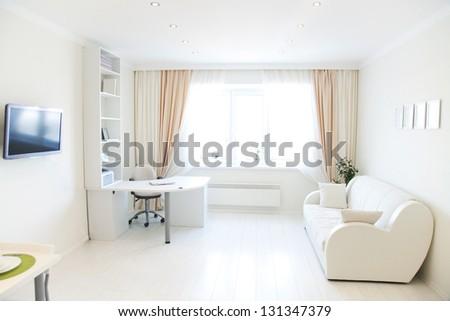 Modern Interior Of Living Room