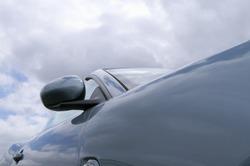 Modern Jaguar abstract closeup