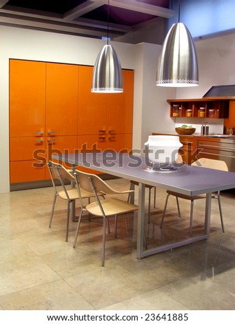 Modern Kitchen High-end showroom furniture