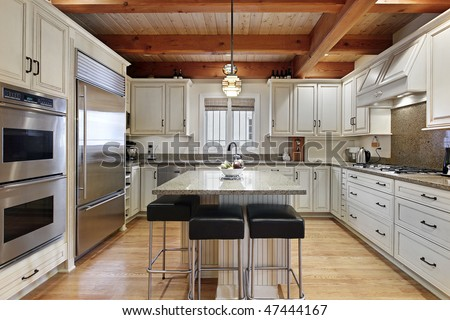 Kitchen With Center Island modern kitchen with center island stock photo 47444167 : shutterstock
