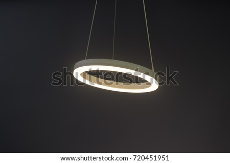 Modern led Pendant light lamp illuminated, Elegant Chandelier illuminated #720451951