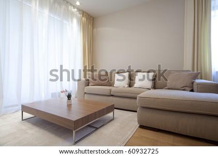 Modern living room #60932725