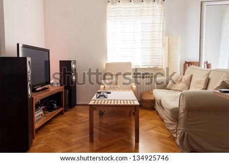 Modern living room - ambient light