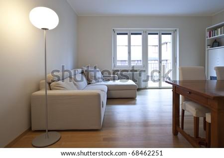 modern living-room, interior view